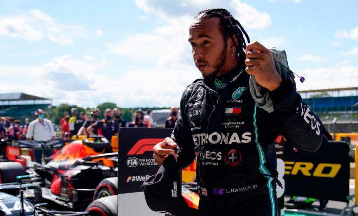 Lewis Hamilton fiton garën e Britanisë, me gomë të shpërthyer(VIDEO)