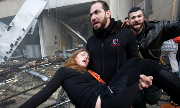 Foto ekskluzive nga Beirut – I gjithë qyteti duket i shkatërruar