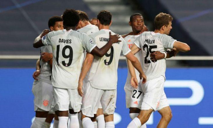 Bayerni kryeson në renditjen e UEFA-së