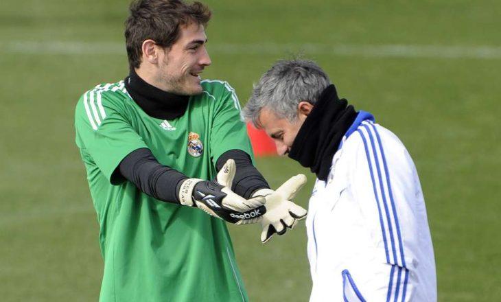 Historia e tyre nuk ishte e këndshme, Mourinho fjalë të mira për Casillas