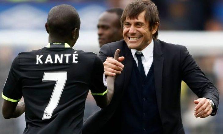 Antonio Conte pas N'Golo Kantes