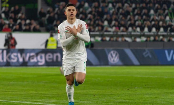 Rashica nuk luan në miqësoren e Werder – Gati transferimi i tij në Angli
