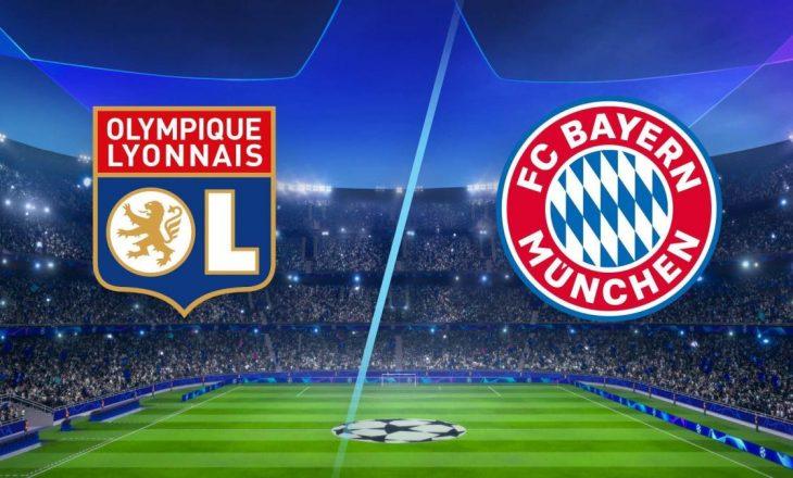 Lyon vs Bayern Munich – Formacionet zyrtare