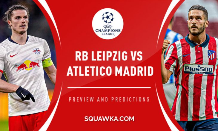 Formacionet Zyrtare: RB Leipzig vs Atletico Madrid