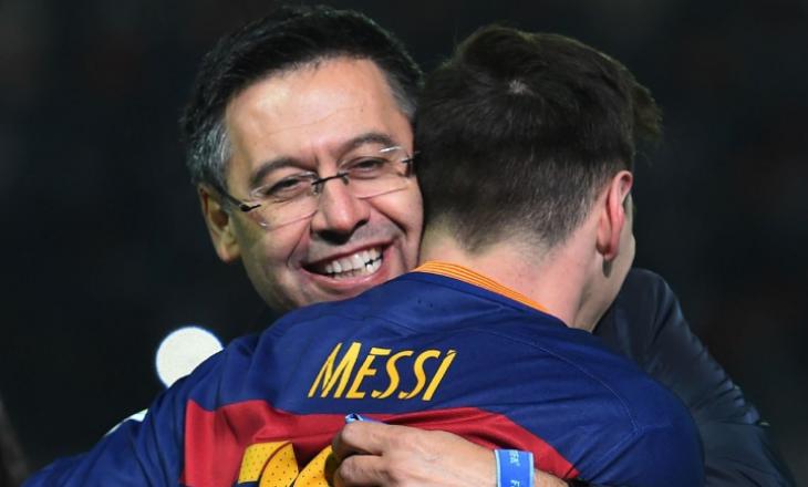 Presidenti i Barcelonës insiston që Messi të mos largohet