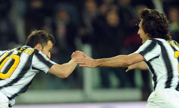 Del Piero ka besim tek Pirlo si trajner i Juventuesit