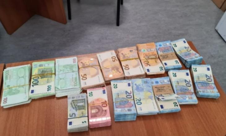 Dogana konfiskon mbi 65 mijë euro të kontrabanduara në Merdare