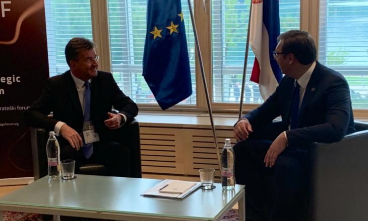 Në prag të takimit në Uashington, Lajçak takon Vuçiqin: Kërkon më shumë dinamizëm në procesin e dialogut