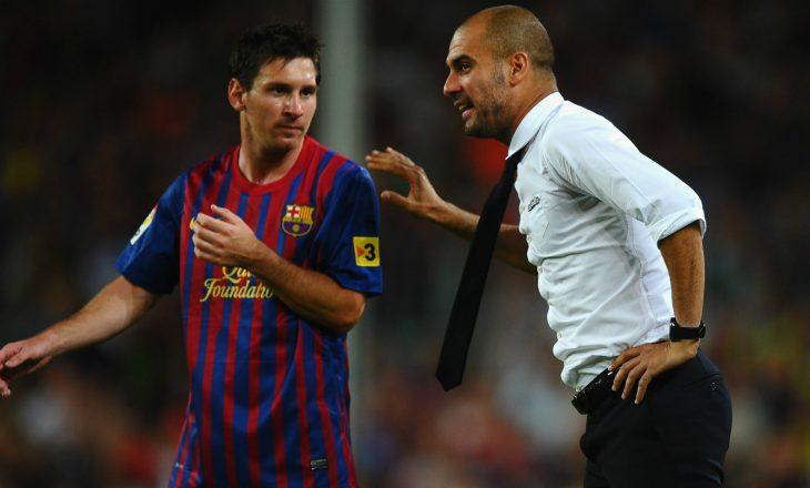 City i gatshëm të ofrojë tre lojtarë dhe 100 milionë euro për Lionel Messi