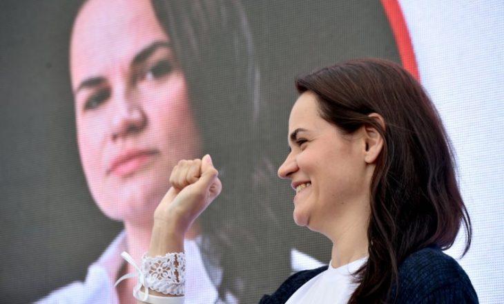 Bjellorusi: Gruaja që sfidoi presidentin autokrat thotë se ndihet fituese e zgjedhjeve