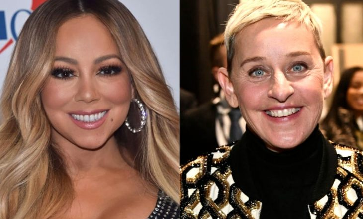 Mariah Carey u ndje tmerrësisht në siklet kur Ellen DeGeneres e detyroi të zbulonte se ishte shtatzënë