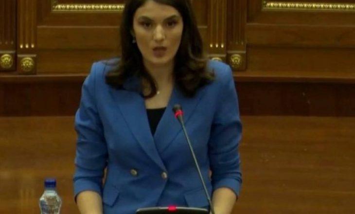 Deputetja Geci për projekt-ligjin për vlerat e UÇK-së: Kosovën e çliroi NATO