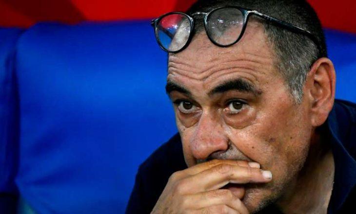 Juventus e shkarkon Sarri-in pas eliminimit nga Liga e Kampionëve