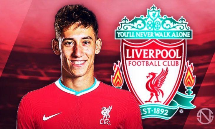 Liverpool arrin marrëveshje me mbrojtësin e  Olympiacos-it Konstantinos Tsimikas