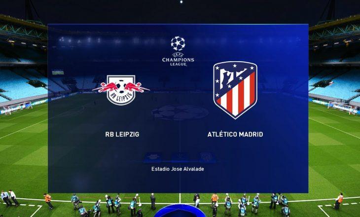 Sonte super ndeshja në mes RB Leipzig vs Atletico Madrid