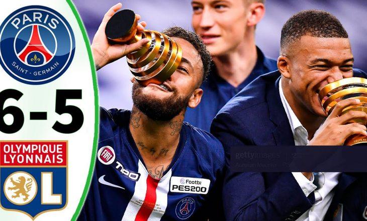 PSG kupën e ligës me penallti ndaj Lyon