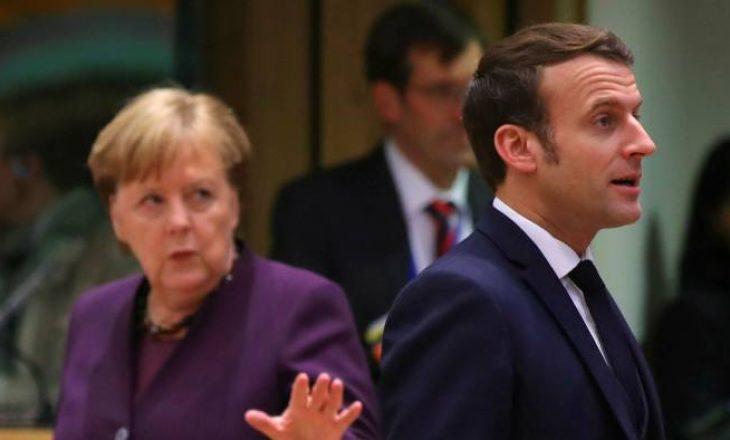 Merkel do ta vizitojë Macron këtë muaj