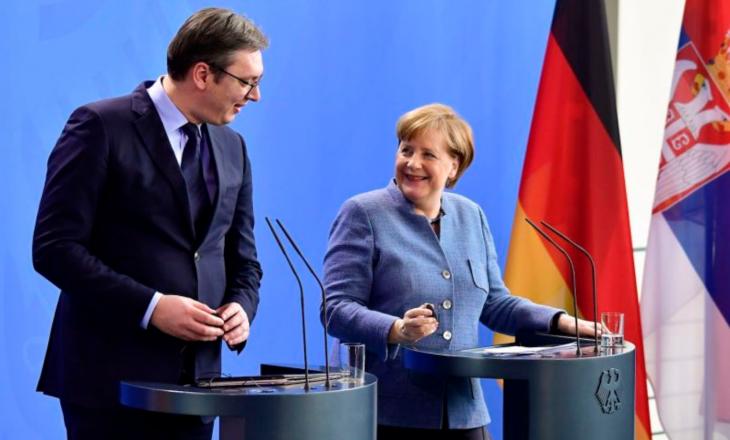 Vuçiq thotë se zhvilloi një bisedë të shkëlqyeshme me kancelaren Merkel