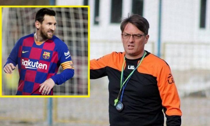 Ismet Munishi: Messi nuk ka vend tek Ballkani