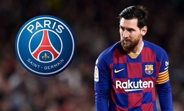 PSG fillon bisedimet me përfaqësuesit e Lionel Messi-t
