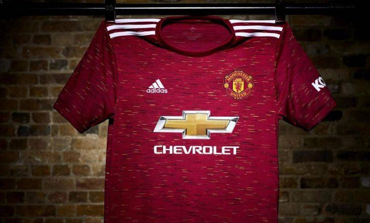 Manchester United zyrtarizon fanellat e reja