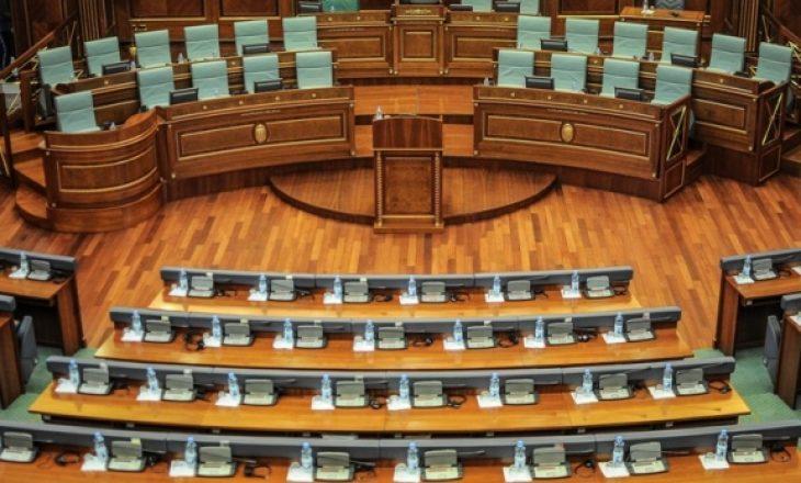 Nuk kishte korum të hidhej në votim projekt-ligji i vlerave të UÇK-së