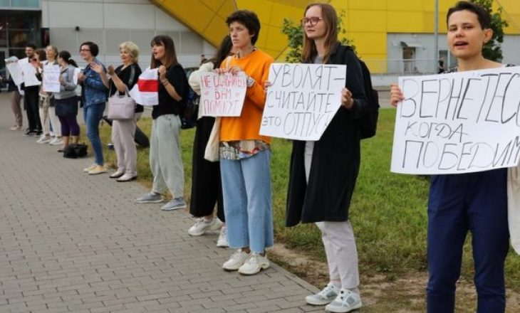Liderja e opozitës bjelloruse u drejtohet qytetarëve: Vazhdojeni dhe rriteni protestën