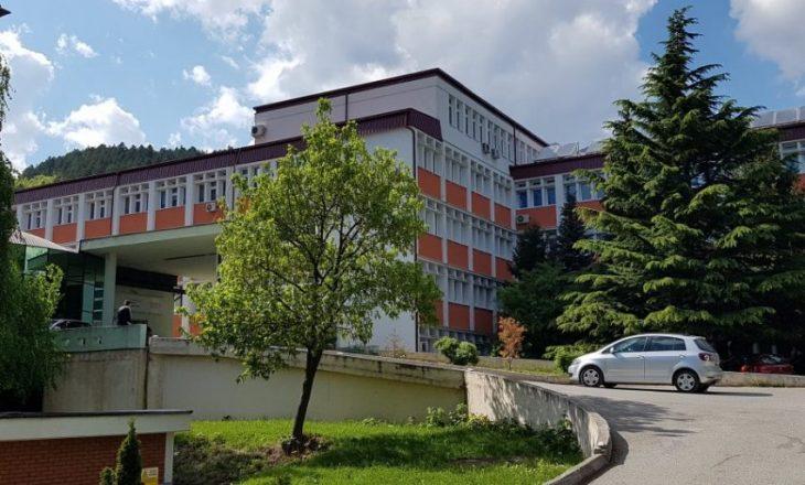 16 të infektuar me COVID-19 në gjednje të rëndë në Spitalin e Pejës