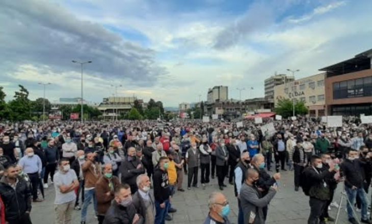 Sërish protesta kundër çmimit të rrymës elekrike në Maqedoninë e Veriut