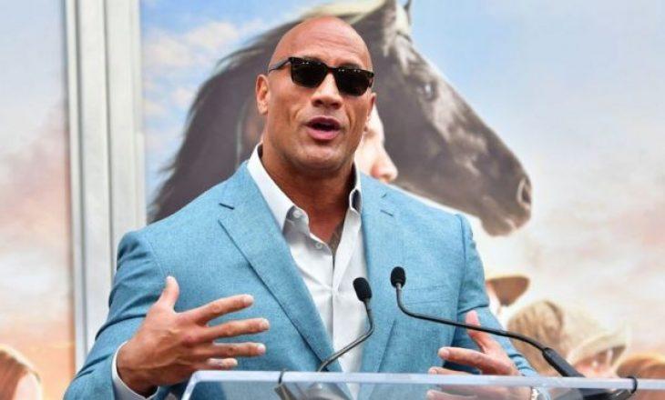Dwayne 'the Rock' Johnson mbetet aktori më i paguar në Hollywood