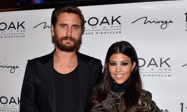 Ish burri i Kourtney Kardashian, Scott Disick po takohet me mikeshën e saj