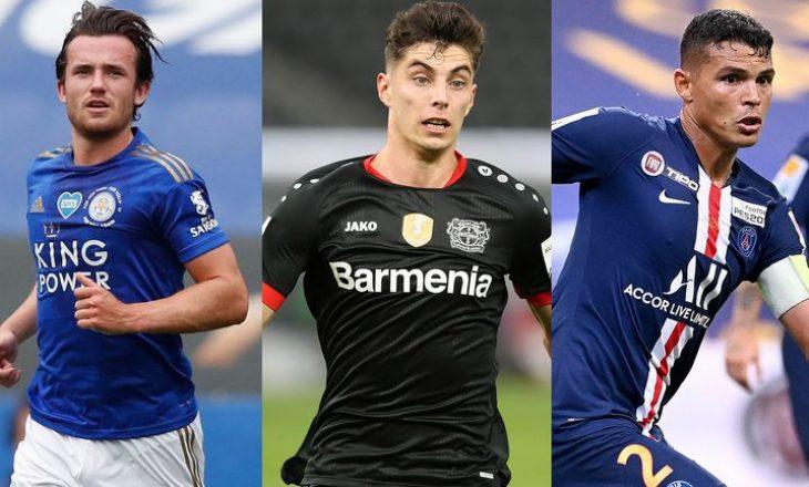 Thiago Silva, Ben Chilwell dhe Kai Havertz, do të prezantohen ditën e premte tek Chelsea