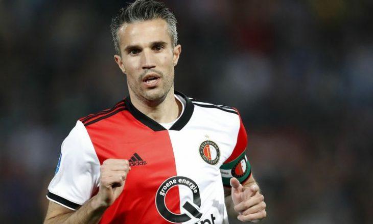 ZYRTARE: Robin van Perie bëhet rajner tek Feyenoord