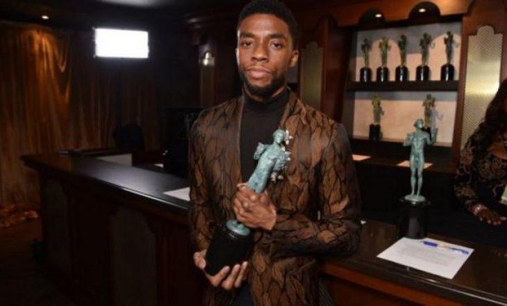 "Vdes Chadwick Boseman, aktori i ""Black Panther"""
