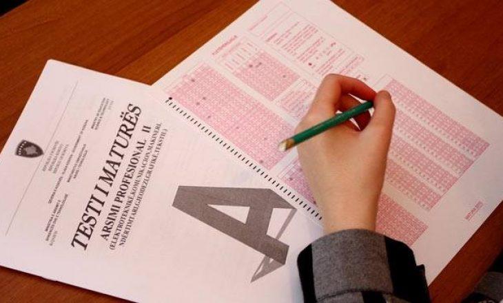 Nesër mbi 26 mijë maturantë i nënshtrohen Testit të Maturës