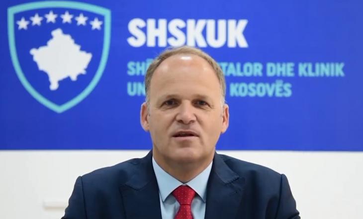 Valbon Krasniqi emërohet zyrtarisht drejtor i SHSKUK-së