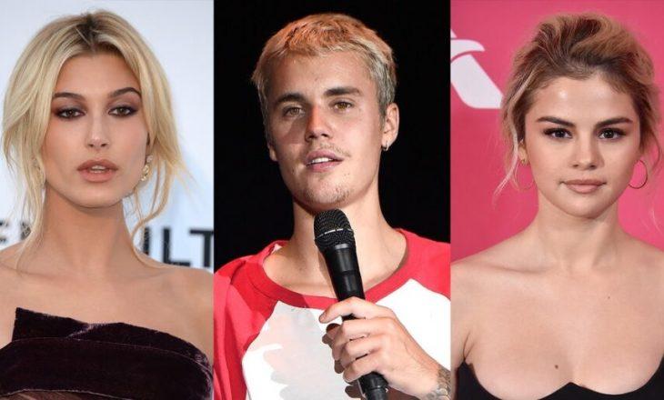 Justin Bieber kontakton me ish-të dashurën dhe i ankohet për bashkëshorten