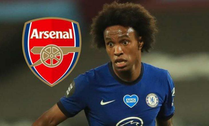 Arsenal shumë afër të nënshkruajnë me Willian