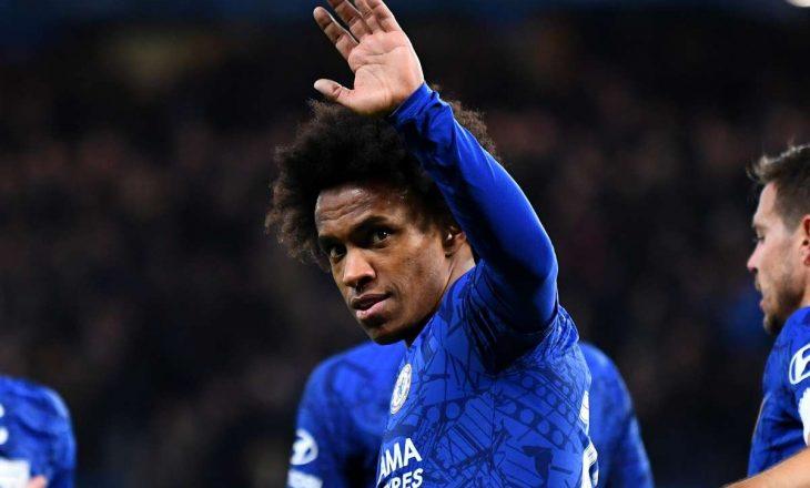 Willian e zyrtarizon largimin nga Chelsea