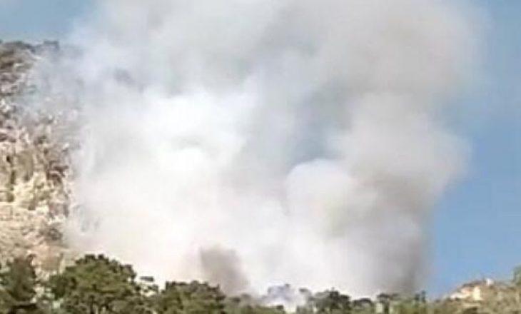 Zjarr në Turqi
