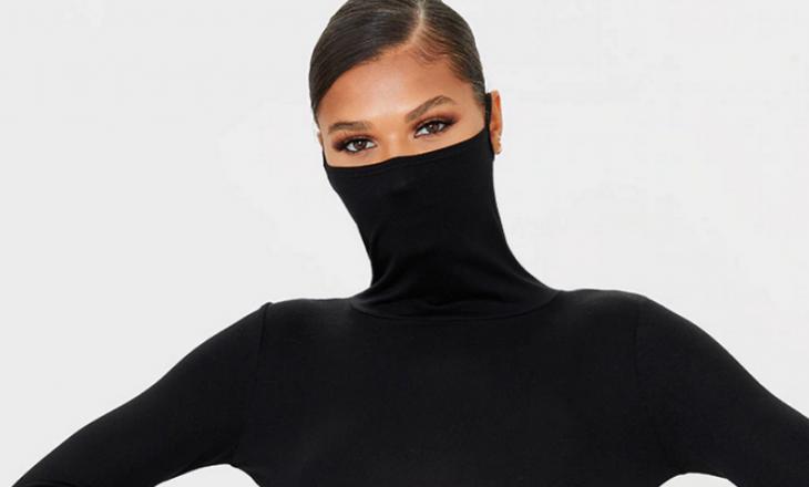 Ky fustan është një gjetje gjeniale për ato që duan një alternativë për maskat e fytyrës