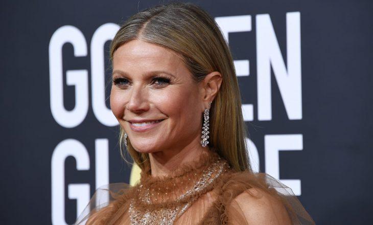 """Gwyneth Paltrow pozon në """"kostumin e lindjes"""" për ditëlindjen e saj të 48-të"""