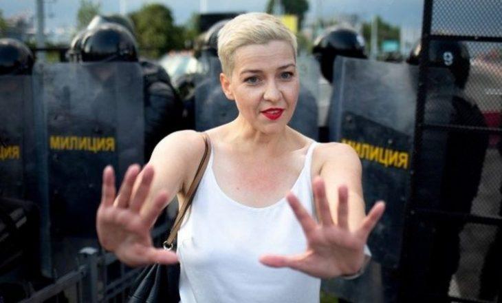 Maria Kolesnikova akuzohet për kundërshtim të ligjit të sigurisë