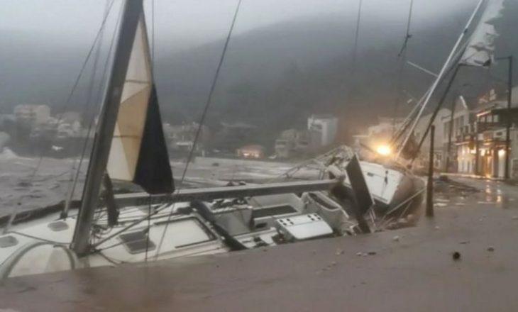 Dy persona të vdekur dhe një i zhdukur pas uraganit meditarian që përfshiu Greqinë
