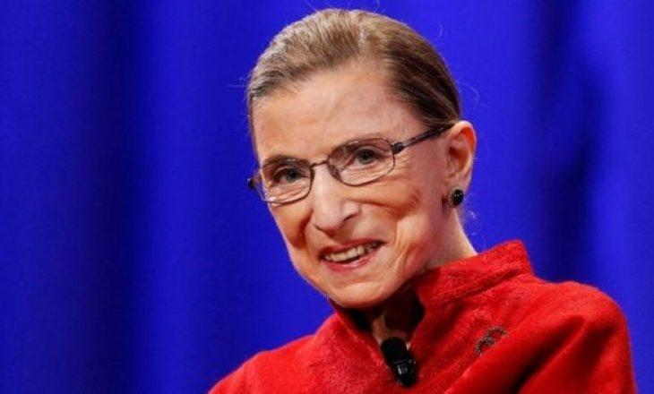 Gjyqtarja e Gjykatës Supreme dhe ikona e të drejtave të grave, Ruth Bader Ginsburg, ka vdekur në moshën 87 vje çare nga kanceri.