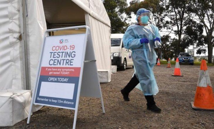 Rastet me Covid në Australi kanë rënë dukshëm duke shënuar rekordin më të ulët në tre muaj