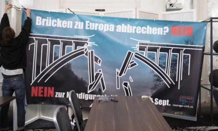 Zvicra kundërshton fundin e lëvizjes së lirë