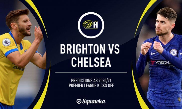 Formacionet zyrtare të Brighton vs Cheslea – startojnë Werner e Havertz(FOTO)