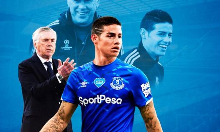 James Rodriguez drejt një ribashkimi me Ancelotti-n