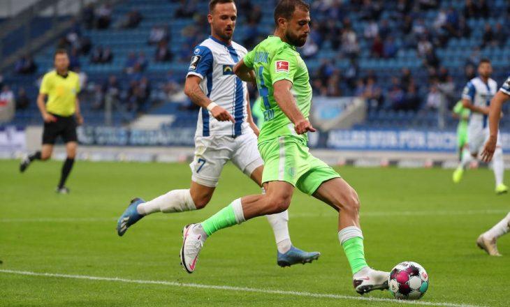 Në Gjermani hapën pjesërisht stadiumet, Admir Mehmedi shënon dy gola në praninë e mbi një mijë tifozëve